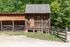 Wood Cabin Mount Vernon Washington Royalty Free Stock Photo