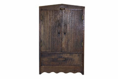 Wood cabinet Royalty Free Stock Photo