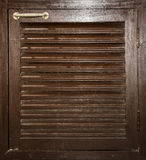 Wood cabinet door Stock Image