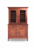 Wood cabinet furniture Stock Photo