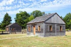 Wood cabins Stock Photo