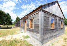 Wood cabins Stock Photos