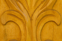 Wood carve Royalty Free Stock Image