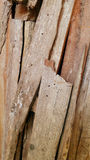 Wood carve fraction Royalty Free Stock Photography