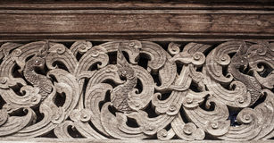 Wood carve Stock Photography