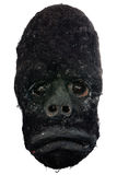 Wood carved African gorilla mask Stock Photo
