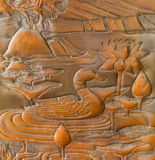Wood carved Stock Image