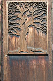Wood carved decoration Stock Image