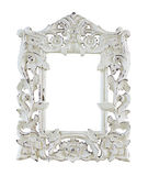 Wood carved frames Stock Photography