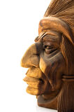 Wood Carved Indian Royalty Free Stock Image