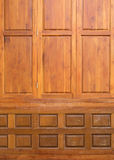 Wood carved texture used decorated wall Royalty Free Stock Image