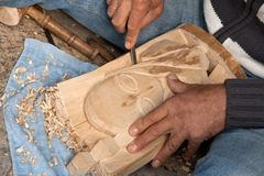 Wood carving Stock Photos