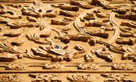 Wood carving Stock Photography
