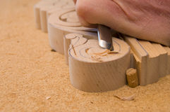 Wood carving 4 Royalty Free Stock Photos