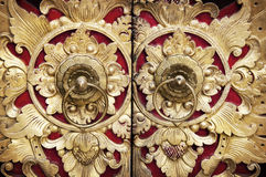 Wood Carving Door Stock Photos