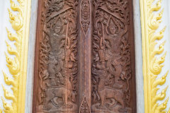 Wood carving Royalty Free Stock Images