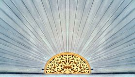 Free Wood Carving Pattern Over The Door Of Chinese Style House Stock Image - 90913781