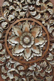 Wood carving patterns royalty free stock image