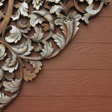 Stock Images: Ornate wood carving patterns