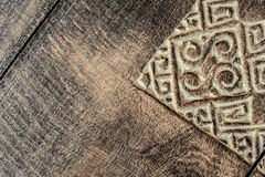 Wood carving texture background Royalty Free Stock Photo