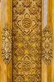 Wood carving thailand Stock Photo