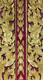 Wood carving of Thailand Royalty Free Stock Photography