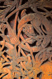 wood carvings royaltyfri fotografi