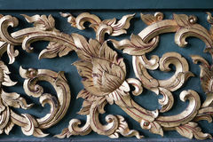 Wood carvings Royalty Free Stock Image