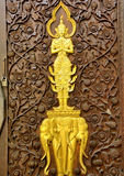 Wood carvings Royalty Free Stock Photos