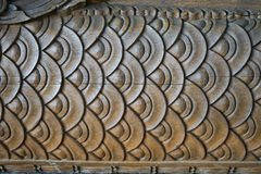 Wood carvings Royalty Free Stock Photo