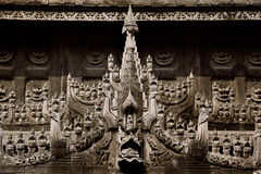 Wood carvings Stock Image