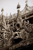 Wood carvings Royalty Free Stock Images