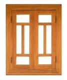 Wood casement Window Royalty Free Stock Photography