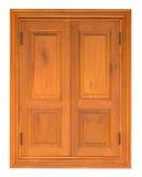 Wood Casement Window Stock Image