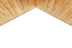 Wood ceiling texture Stock Photography