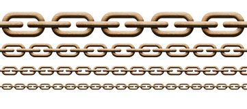 Wood chain Royalty Free Stock Photo