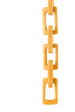 Wood chain Royalty Free Stock Image