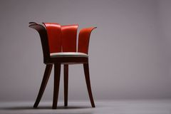 Wood chair royalty free stock image