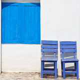 Wood chair Royalty Free Stock Photo