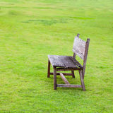 Wood chair Stock Photography