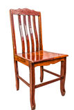 Wood chair isolate Royalty Free Stock Photo