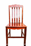 Wood chair isolate Royalty Free Stock Images
