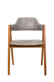 Wood chair isolate on white Royalty Free Stock Image