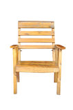 Wood chair isolated Royalty Free Stock Image