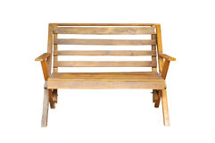 Wood chair isolated Stock Photos