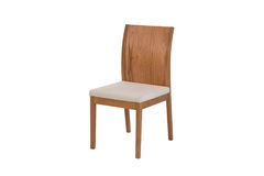 Wood chair. Object isolated of background Stock Image