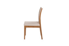 Wood chair. Object isolated of background Stock Photos