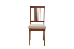 Wood chair. Object isolated of background Stock Photo