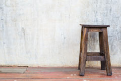 Wood Chair Royalty Free Stock Photos
