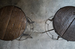 Wood chairs Royalty Free Stock Photography